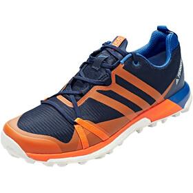 adidas TERREX Agravic GTX Shoes Men collegiate navy/orange/blue beauty